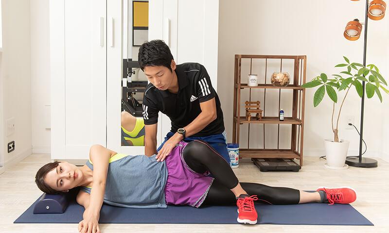 上野で美脚のためのインナーマッスルトレーニング