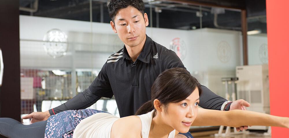 上野で痩せるパーソナルトレーニング