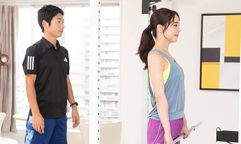 上野で美脚のためのウエイトトレーニング