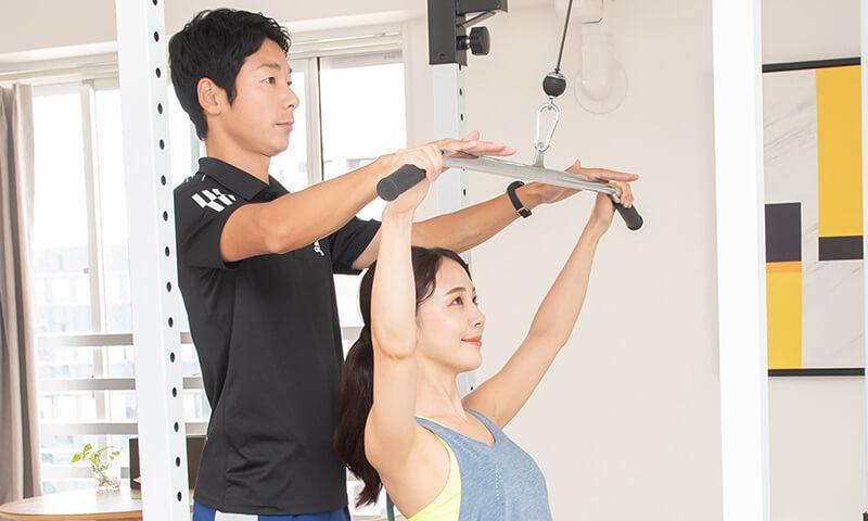 上野で産後の姿勢改善と減量