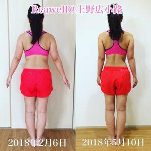 上野で初心者におすすめ/下半身ダイエット/パーソナルトレーニングジムをお探しなら「Reawell」